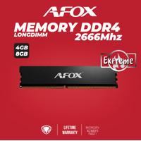 Afox Memory Longdimm 4GB/8GB DDR4 2666Mhz - Xtreme Gaming Heatsink - 4GB
