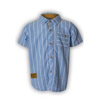 Osella Baju Anak Laki Laki Kemeja Lengan Pendek Blue Stripe