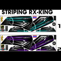 STRIPING KING STICKER VARIASI ALL MOTOR ALL RX KING STIKER