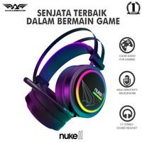 Headset Gaming Armaggeddon Nuke 11 (RGB 16.8 Millon Colours)