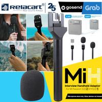 RELACART MiH Interview Handheld Adaptor for Wireless Mi PASSPORT M1/M2