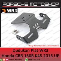 Dudukan Plat / Tail Tidy WR3 Honda CBR 150 R K45R / K45G