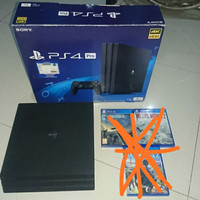 ps 4 pro 1 tb unit only tanpa game (OFW)