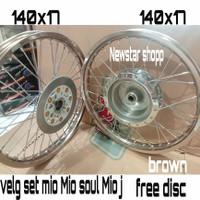 velg TK Mio ring 17 140 x 17 brown original set paketan