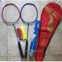 Raket Badminton Bulutangkis Anak-Anak Murah Komplit dengan Kok