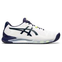 Sepatu Tenis Original Asics Gel Resolution 8 White Peacoat 137621317
