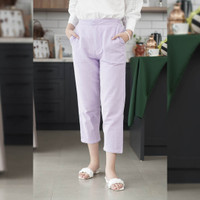 Pencil Pants Beatrice Clothing - Celana Panjang Wanita - Lilac, Big Size