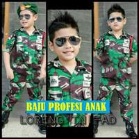 Seragam Anak TENTARA - Baju TNI Anak Laki & Perempuan - Baju Anak TNI
