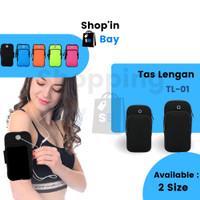 [SB] TL-01 Tas Lengan Jogging Waterproof / Tas hp / Armband Olahraga