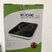 Kompor induksi kuche k-138 1 tungku single stove induction not listrik