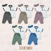 Baju Anak laki-laki keren Setelan Sarkoci Premium
