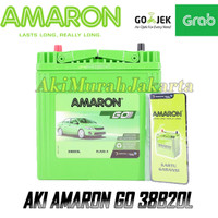 Aki Mobil Datsun GO NS40ZL / 38B20L Amaron GO Aki Kering 12v / 35Ah