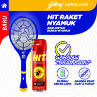 HIT Expert Raket Nyamuk FREE HIT Anti Kecoa Spray 150ml