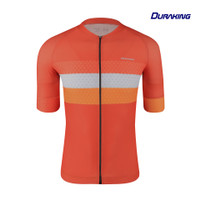 Duraking Jersey Sepeda Phantom 3 Stripes Orange
