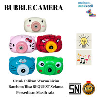 Mainan Anak Bubble Camera/Kamera Gelembung Sabun