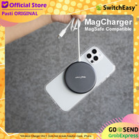 SwitchEasy MagCharger MagSafe Wireless Charger iPhone 12 Pro Max Mini