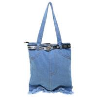 Naughty Accessories Tas Tote Bag Jeans - BBG201201095
