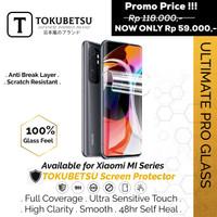 Tokubetsu Xiaomi Mi 9T Series Anti Gores Hydrogel-Screen Protector Pro - 9T, Front