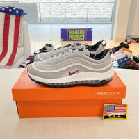 Sepatu Nike Airmax 97 Golf Silver Bullet 100% Original CI7538-001 - 44.5