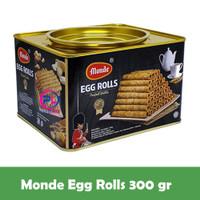 Monde Original Egg Roll biscuit Serena 300 gr Kue cookies kaleng