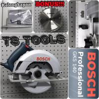 "Bosch GKS 140 Mesin Gergaji Circular Saw Bosch 7"" GKS140 7 inch"
