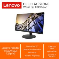 Lenovo Monitor ThinkVision T27p-10