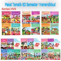 Buku Paket SD Semester 1 kelas 1,2,3,4,5,6 Kemendikbud Edisi Revisi