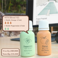 Paket Essential Oils Work from Home WFH02 Mood & Concentration Booster