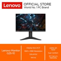 """Lenovo Monitor G25-10 24.5"""" Res 1920x1080"""