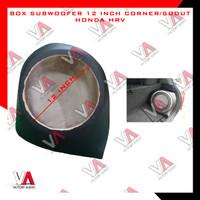 BARU Box Sudut Bahan MDF 18mm Subwoofer Audio Mobil 12 Inch Honda HRV