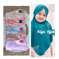 Hilya Hijab 2-5 Thn - Kerudung Bergo Instan Anak Muslim