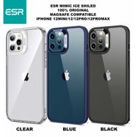 ESR Mimic Ice Shiled Soft Case iPhone 12 Pro Max Mini Clear Casing