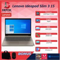 Lenovo Ideapad Slim 3 15 Ryzen 5 3500 8GB 256ssd Vega8 W10 15.6FHD