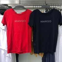 Jastip Mango Logo T-shirt Original Store