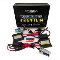 HID H1 H7 H11 H4 XENON AVARNOVA SET ISI 2 + BALAST BOHLAM LAMPU LED