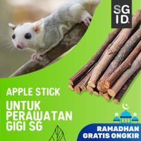 Natural Apple Orchard Chew Sick, Kayu Apel Perawatan Gigi Sugar Glider