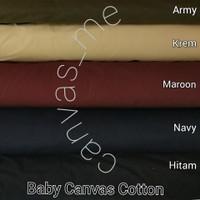 Kain Baby Canvas/Kanvas Polos, Pjg 1m x Lbr 1,5m