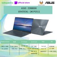 ASUS ZENBOOK UX435EAL-1WIPS511 i5-1135G7 8GB 1TB UMA W10 NUMBERPAD