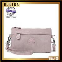 ORIGINAL 100 % Tas GUDIKA Original G8147 Tas Cewek Selempang Wanita - l purple