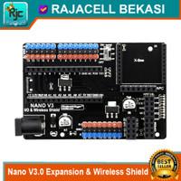 Nano V3.0 I/O Expansion & Wireless Shield for Arduino Nano V3 pinout
