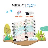 MIISOO EVO Anak Motif KN95 Masker Kesehatan wajah Kids 4ply BNPB