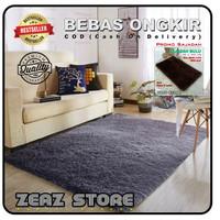 karpet bulu rasfur karpet lantai 100x150x2,5cm