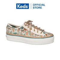 Keds Sepatu Wanita TRIPLE KICK JUNGALOW RAINFOR WF63368