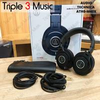 Audio Technica ATH M40x [BANDUNG] ORIGINAL Headphone monitor Studio