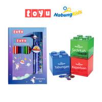 [Paket Bundling] Toyu Set Stationery + NabungKids Dream Box