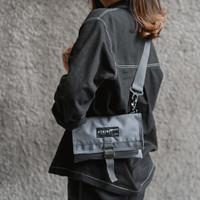 Tas Selempang Dompet Sling Bag Wallet Arcio Mika Grey