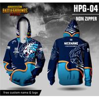 Jersey hoodie pubg mobile evos baju kaos game lengan panjang - XS