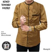 Baju Lebaran KOKO TOYOBO MICRO/Kemeja Koko/Kemeja jeans/Pria Casual