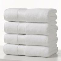 HANDUK HOTEL TEBAL 140 X 70 CM PUTIH DEWASA BAYI SWIM TOWEL WHITE