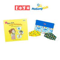 [Paket Bundling] Toyu Masker & Pouch + NabungKids Buku